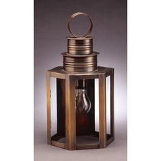 Northeast Lantern Hardwick 1 Light Outdoor Wall Lantern Finish: