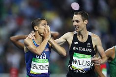 Say what? @MattCentrowitz wins USA's 1st #Olympics 1500m #gold since 1908