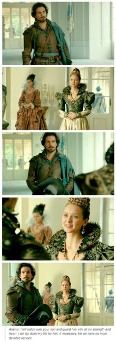 The Musketeers - 1x10 - Musketeers Don't Die Easily, Oh Aramis, THE FEELS!!! :(