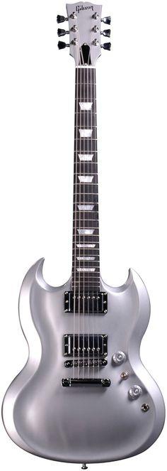 Gibson SG Diablo - Metallic Silver