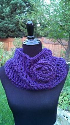 Ravelry: Soft and Stylish Cowl pattern by Beatrice Ryan Designs