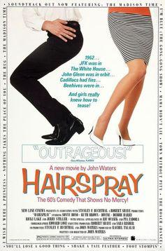 Hairspray is a 1988 comedy film written and directed by John Waters, and starring Ricki Lake, Sonny Bono & Debbie Harry Robert Duvall, Robert Redford, Michael Nouri, Richard Roundtree, Kelly Mcgillis, Mary Stuart Masterson, Blythe Danner, Jennifer Beals, Boogie Nights