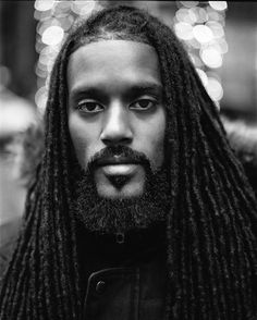 Black Men with Dreadlocks Black Man, Hot Black Guys, Locs, Dreadlocks Men, Sisterlocks, Black Men Beards, Handsome Black Men, Curly Hair Styles, Natural Hair Styles