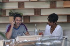 Halle Berry Photos: Halle Berry Gets Lunch with Her Husband