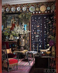 Andrew Gn's Paris Apartment - ELLE DECOR