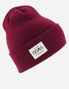 Coal - The Uniform Beanie burgundy