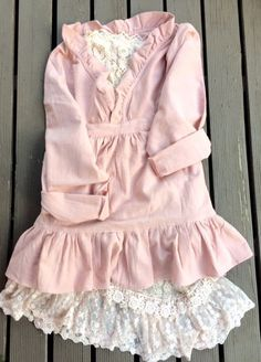 pale rose pink smock top.. cotton rose by MissRoseSisterViolet