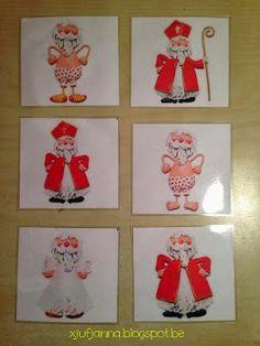 Logisch rangschikken: Sint kleedt zich aan (prenten uit doremi) Saint Nicolas, Holiday Decor, Projects, Blog, Montessori, Celebrations, Winter, Christmas, December