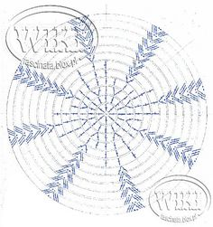 szydełkowe dzwoneczki schematy - Cerca con Google