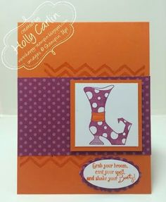 A Halloween card for Fab Friday Challenge 53