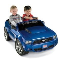 Power Wheels Ride-On Boss 302 Ford Mustang Fisher-Price
