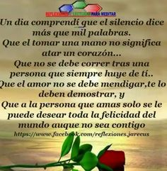 Buenos días!! Bonita reflexión - Zunilda Torres - Google+