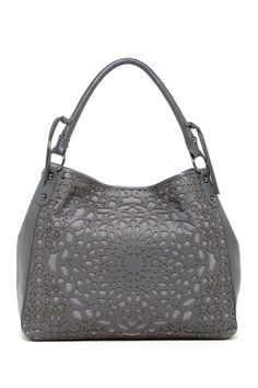 Isabella Fiore Laser Leather Carryall on HauteLook