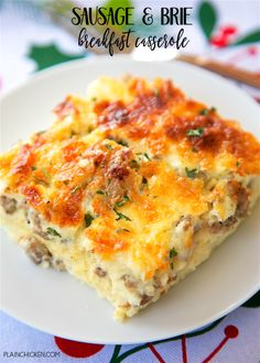 Sausage and Brie Breakfast CasseroleReally nice recipes. Every  Mein Blog: Alles rund um Genuss & Geschmack  Kochen Backen Braten Vorspeisen Mains & Desserts!