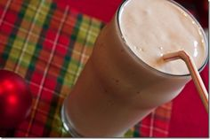 protein sugar cookie smoothie...200 calories and 25 grams of protein!