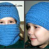 Crochet Ski Mask (All Sizes)