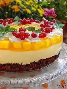 mango cake (cheesecake)