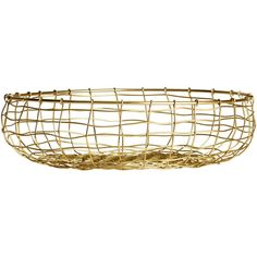 H&M Round wire basket (269.665 IDR) ❤ liked on Polyvore