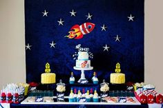 Boys Outer Space Themed Birthday Party Ideas