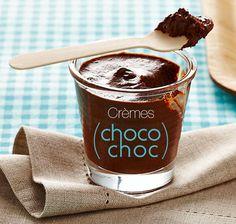 La recette des crèmes choco choc… #blancheporte