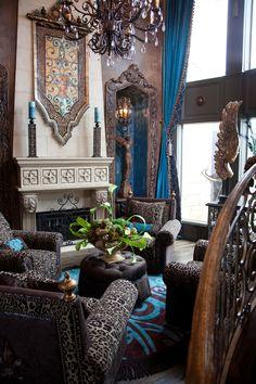 Mediterranean Tuscan Old World Decor Interior Design Donna Moss Hgtv Designer