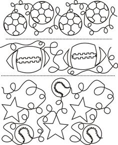 CONTINUOUS LINE QUILTING PATTERNS FREE | Design Patterns