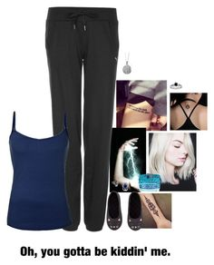 """Untitled #783"" by merlinchick on Polyvore featuring Puma, H&M, Bling Jewelry and Blue Nile"