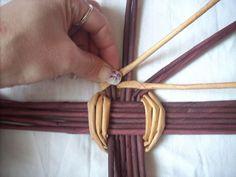 japán alap Moje pletení z papíru - Fotoalbum - NÁVOD - NA PLETENÁ DNA - NÁVOD - na jednoduché japonské dno