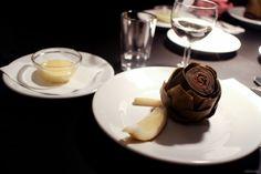 Food in Berlin: Restaurant 3 - A favorite to start: artichoke with aioli More information on #Berlin: visitBerlin.com
