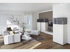 Musterhaus inneneinrichtung wohnzimmer  Baufritz Crichton - Baufritz | Offene treppe, Baufritz und Treppe holz