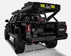 No photo description available. Overland Gear, Overland Truck, Custom Truck Beds, Custom Trucks, Ford Ranger, Toyota Tacoma 4x4, Tactical Truck, Navara D40, Pickup Truck Accessories