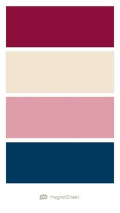 Wedding color palette silver cream champagne burgundy - Burgundy and blue color scheme ...