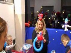 Ewa Przybylska - pokazy modelowania balonów.