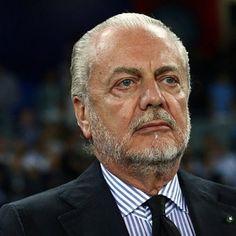 """Napoli, De Laurentiis: """"Scudetto? Gli striscioni che parlano in maniera più chiara di me"""""""