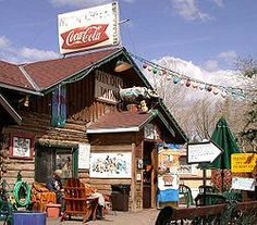 Hunter S. Thompson's woody creek tavern. if you don't know, you should.