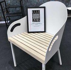 Brunnsviken utegrupp med soffa, stolar och bord från Smd Design fick ELLE Decoration Swedish Design Awards 2016 som Årets Utemöbel