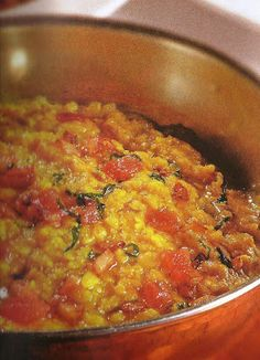 sopa de lentilhas à indiana