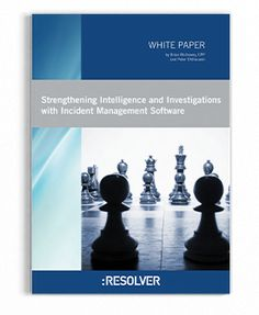 Corporate Security, Risk Management, Investigations, Software, Study