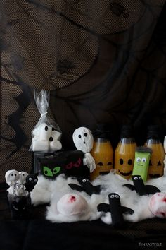 Tinkas Welt: Halloween - Süßigkeiten originell verpackt