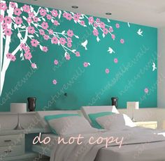 32 best baby room images on Pinterest | Blossom trees, Cherry ...
