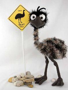 Emma The Emu Amigurumi Pattern