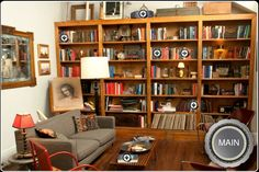 Neal Caffrey's studio apartment set from the TV show White Collar - cozy but…