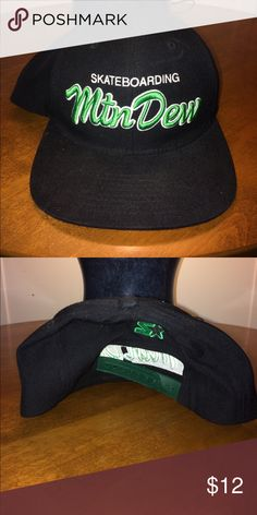 Mnt Dew Skateboarding hat 80% acrylic 20% wool very comfy great condition Accessories Hats