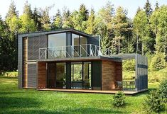 51 stunning modern container house design ideas for comfortable life every day 5 Tiny House Design Comfortable Container day design House ideas life Modern Stunning Building A Container Home, Container House Plans, Container Homes, Small House Design, Modern House Design, Shipping Container Home Designs, Shipping Container Houses, Tiny House Cabin, Prefab Homes