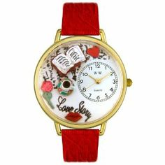 Whimsical Watches Women's G0460003 Love Story Red Leather Watch Whimsical Watches. $40.99