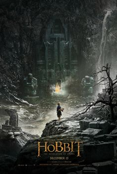 The Hobbit - The Desolation Of Smaug (First Movie Poster) #thehobbit #lordoftherings