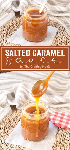 Deliciously addictive this homemade Salted Caramel Sauce will make the perfect addition to your desserts. Sweet and salty it's full of flavor