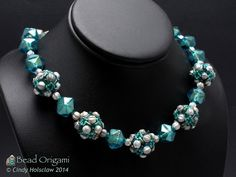 Melon Ball Beaded Beads - Cindy Holsclaw - Bead Origami