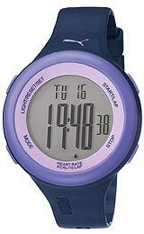 Puma Fit Purple Heart Rate Monitor Digital Unisex watch #PU910961006