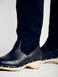 Canopy Tall Clog Boot